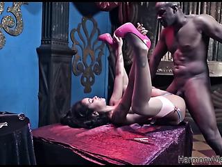 hot ebony exotic girl