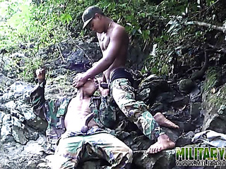 nice gay couple military