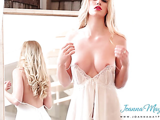 luscious blonde chick highly