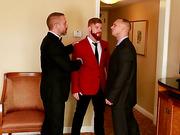 dirty, dude, gay, threesome