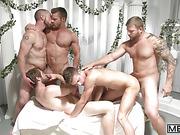 gay, greek, orgy
