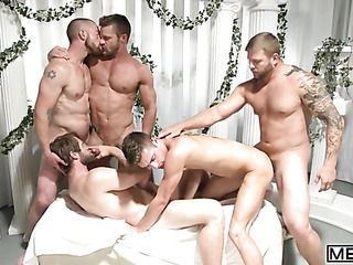 awesome scene gay orgy
