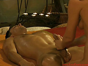 brunette, erotica, handjob, massage
