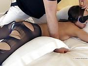 ass, bondage, pantyhose, vibrator