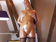 ass, bondage, pantyhose, pussy