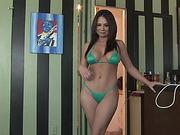 bikini, curvy, handjob, pov