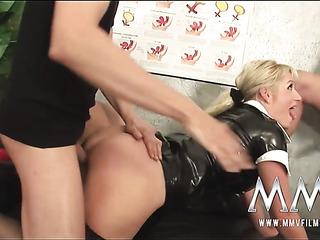 straffet med stor Dick