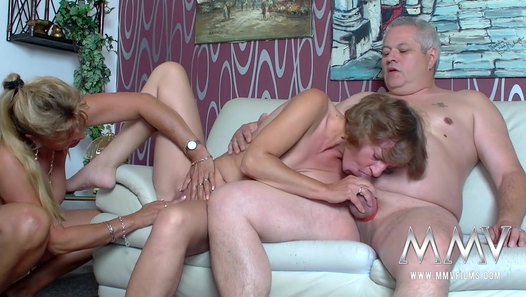 Mature three some sex