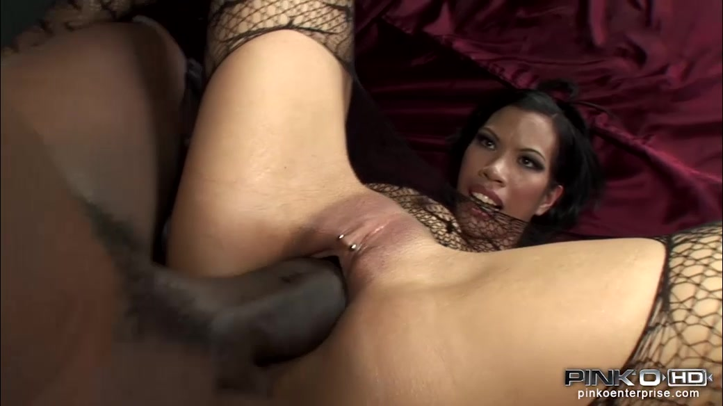 Massive Black Penis Occupied Asian Tight Pierced Snatch ...