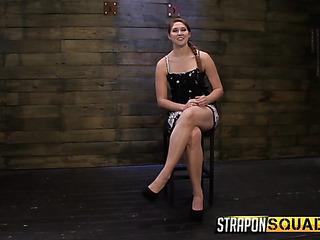 slut ball gagged and