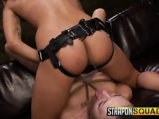 domme uses massive black