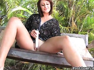 girl gives neighbor tons