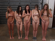 18+ teens, lesbian, white, wrestle