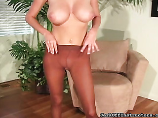blonde with bouncy breasts
