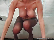ass, pantyhose, pussy, tits