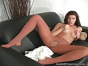 beauty, pantyhose, tease, tits