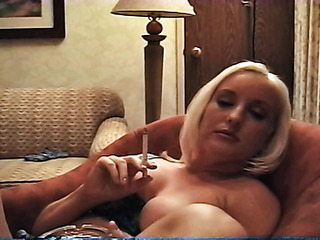 chunky blonde with big