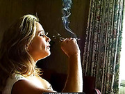 mirror, smoking