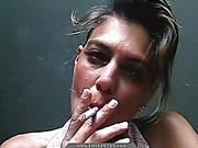 french, smoking
