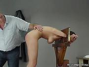 brutal, butt, pain, spanking