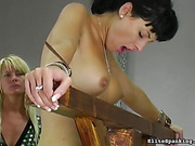 spanking, tied