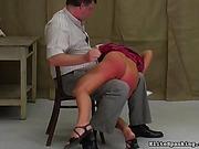 spanked, spanking, video