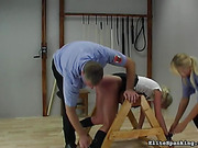 caning, office, pain, spanking