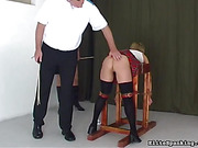 bathroom, smoking, spanking, video