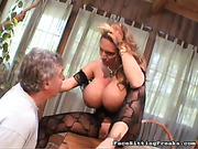 ass, femdom, slave, video