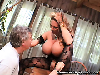 giant melons outstanding mistress