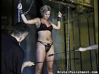 tattooed blonde bitch lingerie