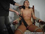 brutal, femdom, slave
