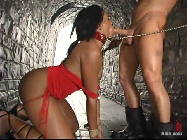 Submissive ebony
