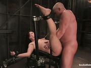 anal, bondage, leather, tied