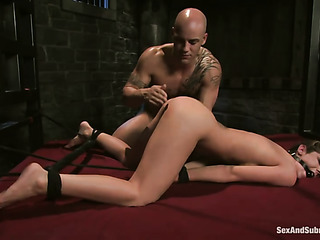 brunette pro gets tortured