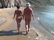 amateur, beach, nude