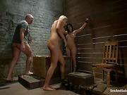 ass, bondage, submissive, sucking