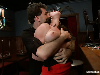 gagged bound and suspended