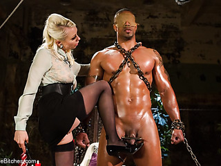 enchained black hung gets