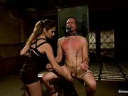 ass, femdom, torture, woman