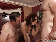 babe, cuckold, group sex, pale