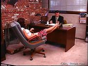 boss, latina, office, white
