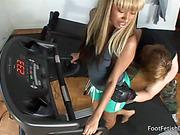 black, feet, foot, workout