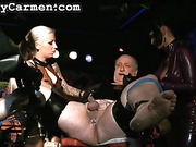 ass, femdom, tied, toys