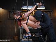bondage, ebony, punishment