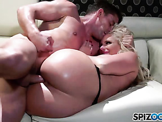 slutty blonde mom sexy