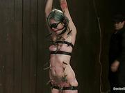 bondage, hot, punk, slut