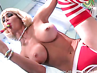 blond extreme candy lover