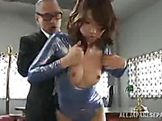 couch, japanese, old man, pussy