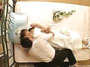 bride, japanese, pussy, white